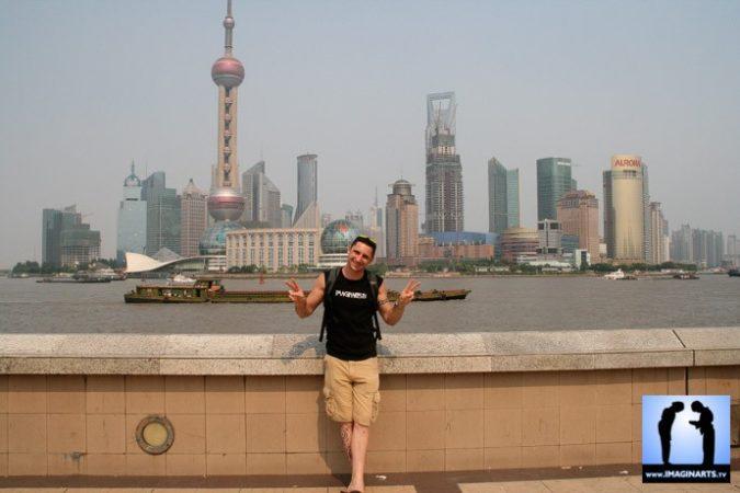Lionel Froidure à Shanghai