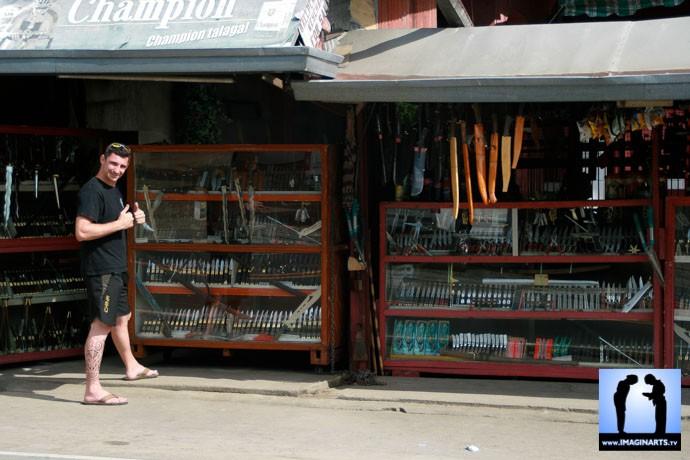 Lionel Froidure à Batangas Philippines