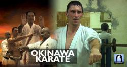 entrainement karaté à okinawa avec Lionel Froidure