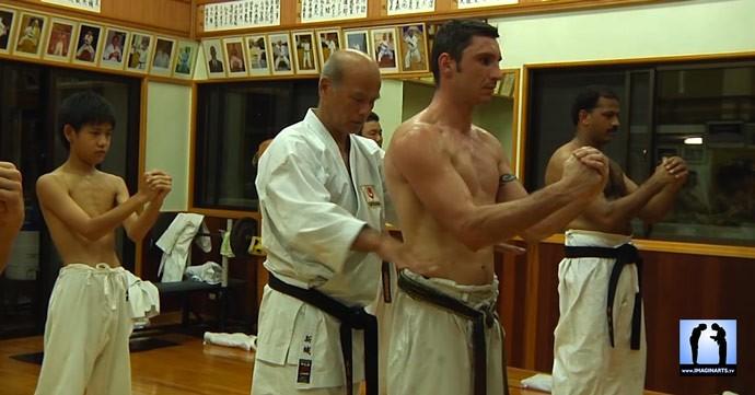 sensei Kiyohide shinjo karate okinawa