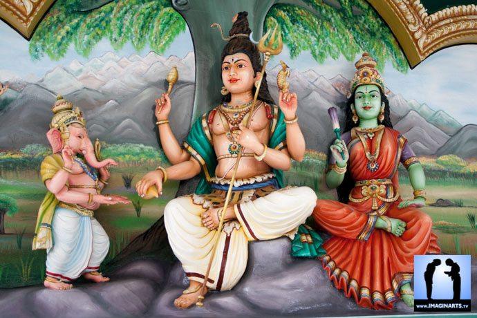 kula lumpur, sculpture hindou