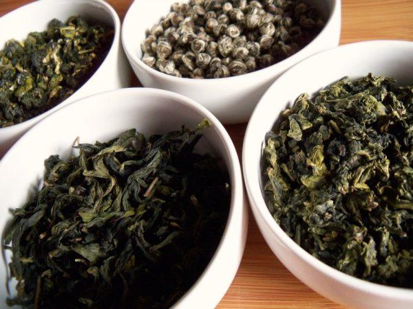 the vert - green tea