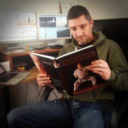 Lionel Froidure et le livre Sensei Kase