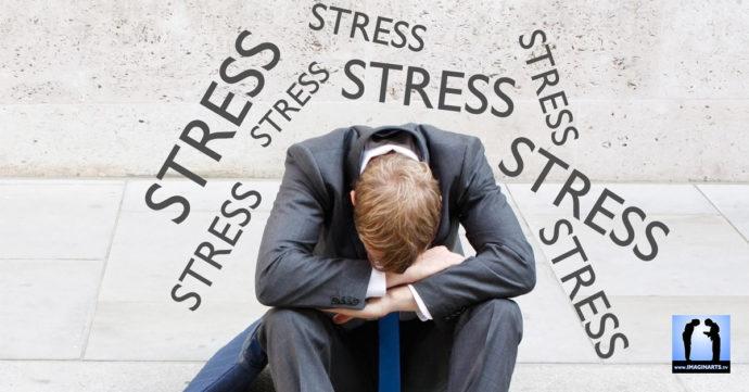 symptômes du stress avec les arts martiaux