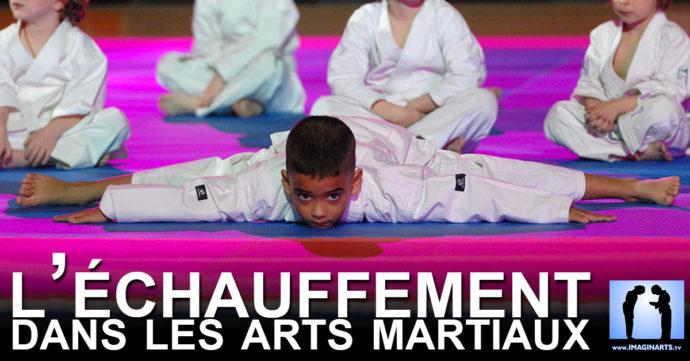échauffement pour le karate et les arts martiaux