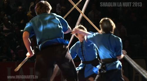 La nuit des arts martiaux : Shaolin la Nuit 2013