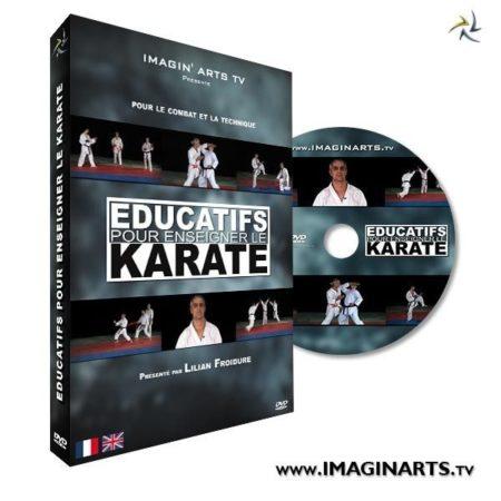 Educatifs pour enseigner le karaté DVD video