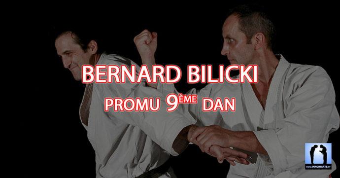Bernard Bilicki sensei promu 9ème dan de Karaté