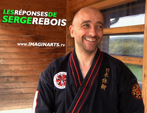 Serge Rebois, expert en Kyusho Dim Mak