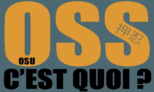 Définition de Oss et osu