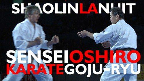 zenei oshiro goju ryu démonstration vidéo