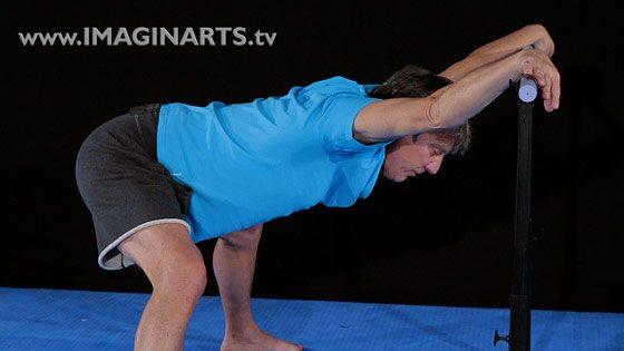 video de stretching pour le karaté