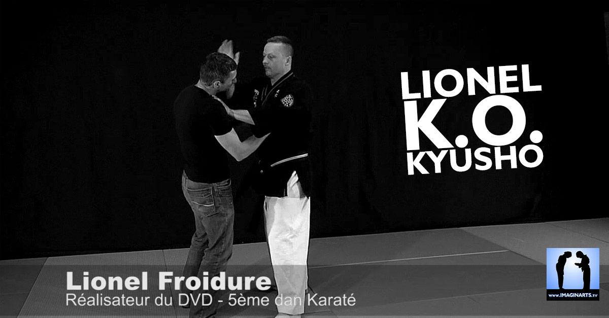 KO kyusho sur Lionel Froidure la vidéo karaté