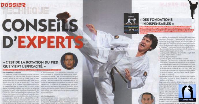 article magazine avec Pierre Blot par le FFKDA