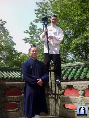 袁理敏 Shifu Yuan Limin et Lionel Froidure