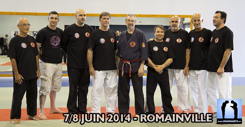 Chris Thomas et l'équipe Kyusho France