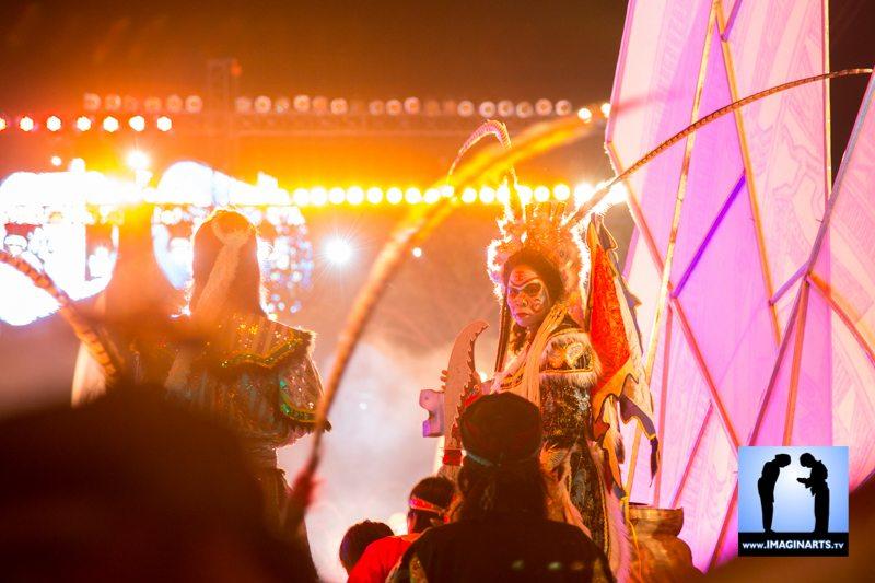 Festival vo co truyen Quy Nhon 2014 Vietnam parade