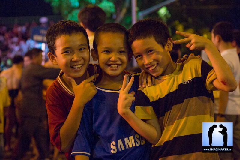 Festival vo co truyen Quy Nhon 2014 Vietnam enfants