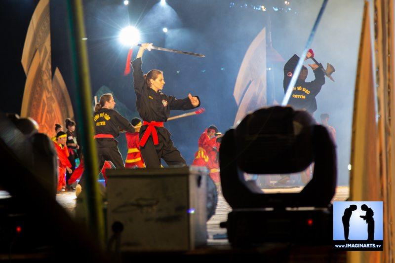 Festival vo co truyen Quy Nhon 2014 Vietnam russia
