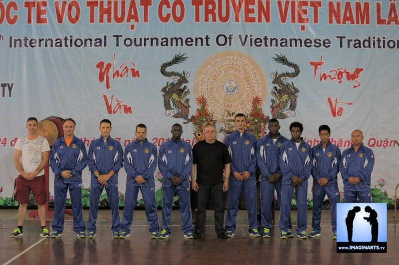 tournoi international Ho Chi Minh Vo Co Truyen 2014 combat
