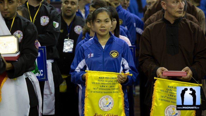 Mai Han Tran Tinh tournoi international Ho Chi Minh Võ Cổ truyền Việt Nam 2014 combat