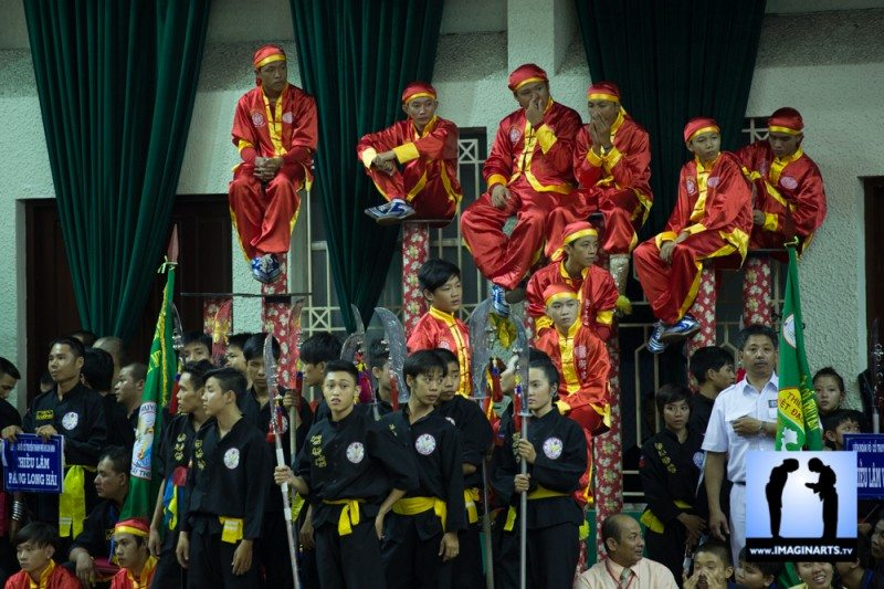 tournoi international Ho Chi Minh Võ Cổ truyền Việt Nam 2014 combat ouverture