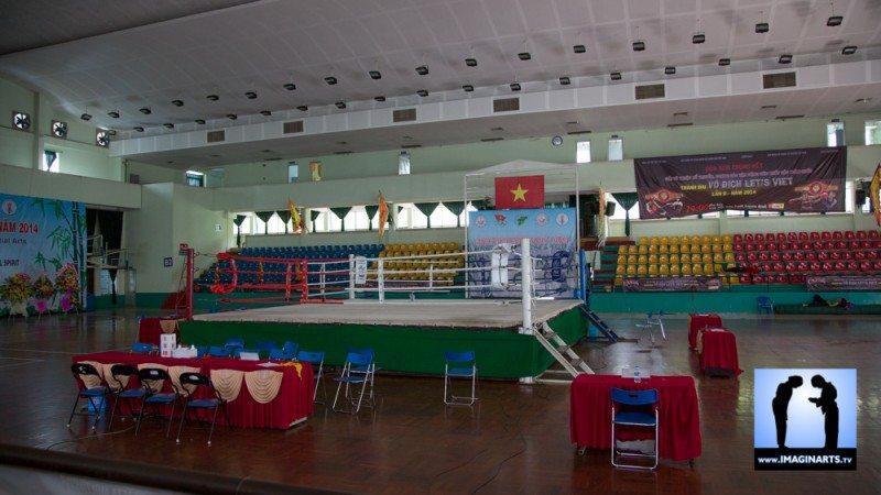 tournoi international Ho Chi Minh Võ Cổ truyền Việt Nam 2014 ring