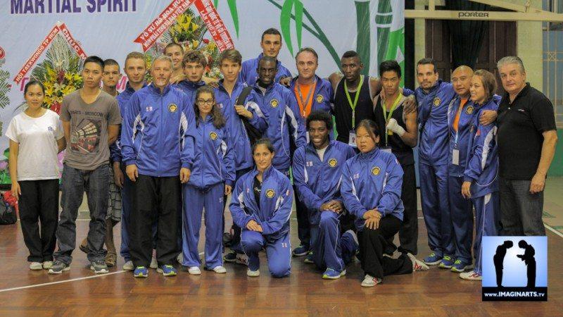 tournoi international Ho Chi Minh Võ Cổ truyền Việt Nam 2014 équipe de France FFKDA