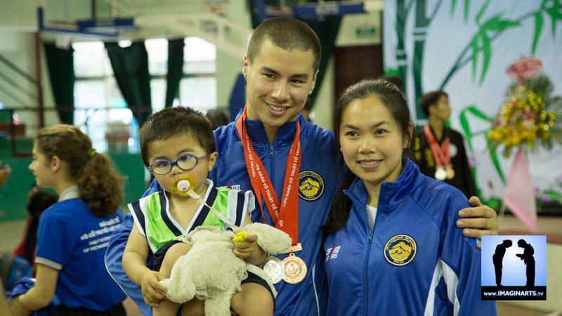 Jeremie Trang et Mai Han Tran Thuy
