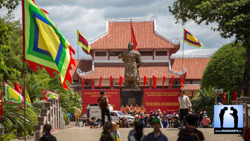 Festival vo co truyen Cuy Nhon 2014 Vietnam