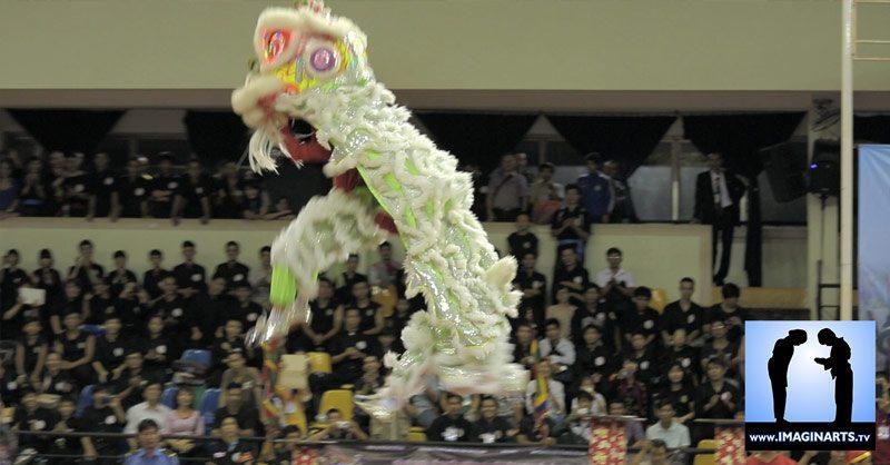 danse licorne cérémonie ouverture tournoi Võ Cổ Truyền Ho Chi Minh 2014