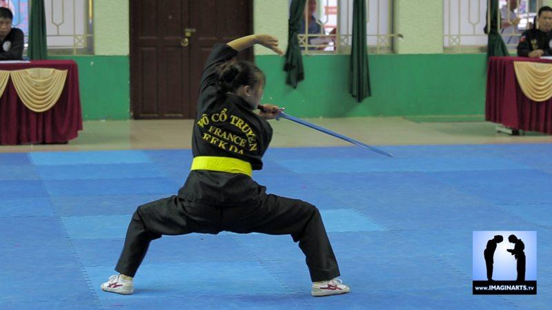 tournoi international Ho Chi Minh Võ Cổ truyền Việt Nam 2014 Carole Bo Ram AUTRET