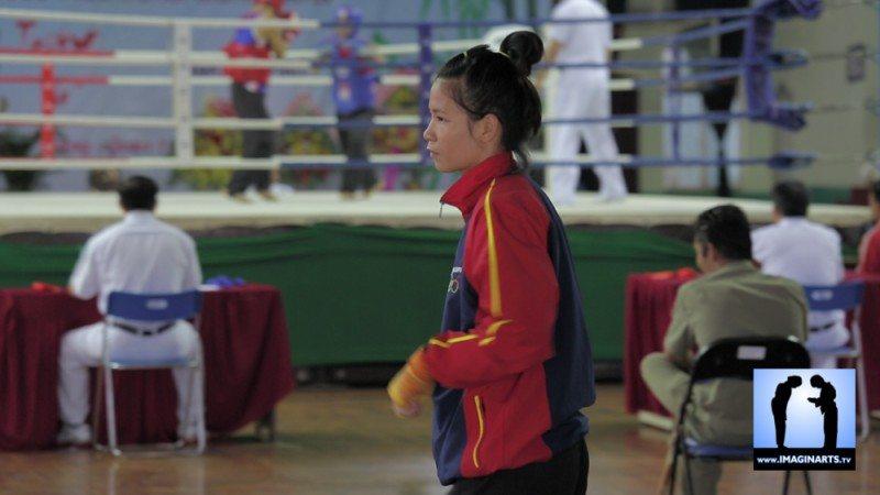 tournoi international Ho Chi Minh Võ Cổ truyền Việt Nam 2014 combattante
