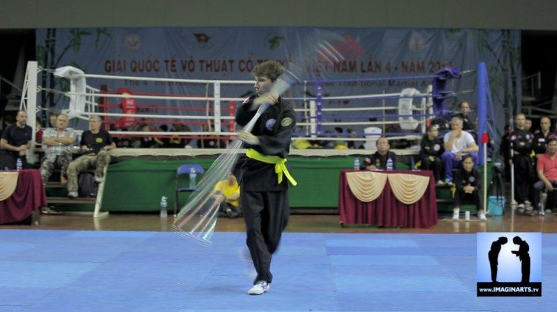 tournoi international Ho Chi Minh Võ Cổ truyền Việt Nam 2014 Quyen
