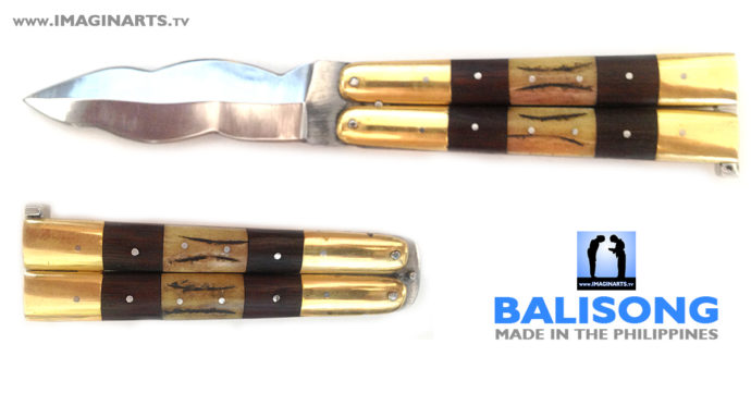 Balisong kriss, le couteau papillon des Philippines