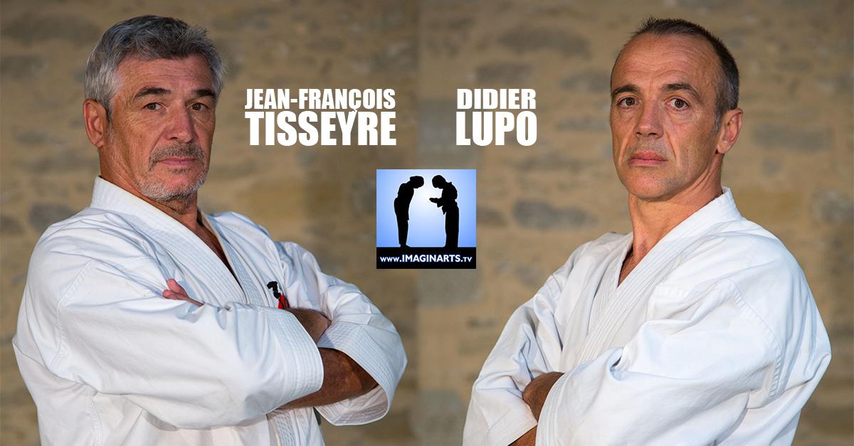 Jean-François Tisseyre et Didier Lupo : bunkai 1er dan karaté shotokan