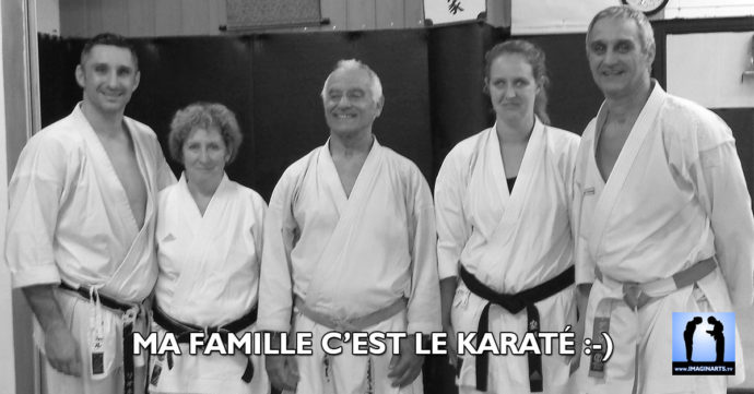ma famille c'est le karate