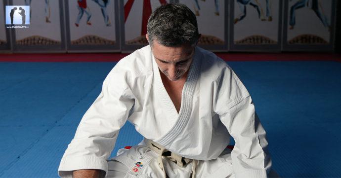karate réflexion sur la visualisation  avec Lionel Froidure