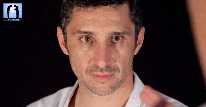 Lionel Froidure en karate-gi