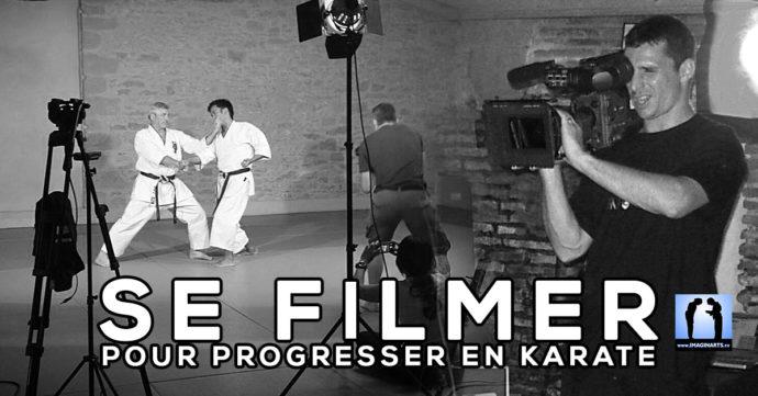 se filmer pour progresser en karate