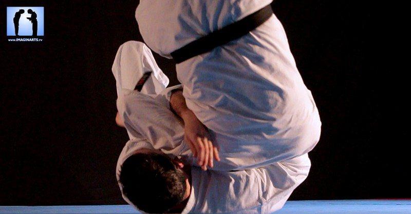 ushiro sutemi en bunkai karate