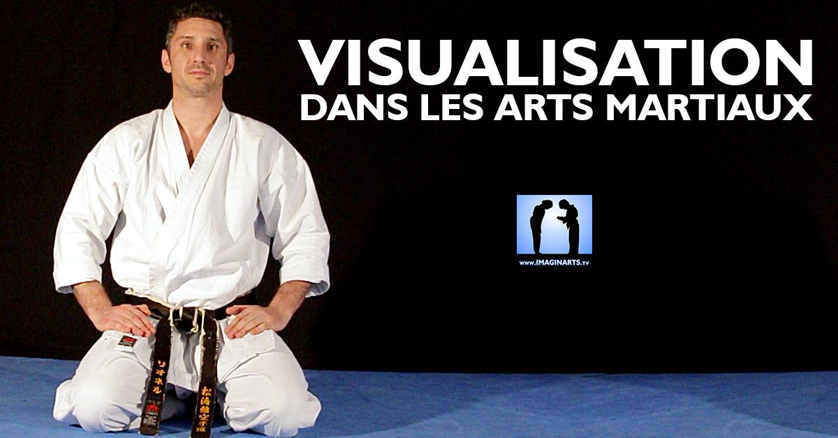 Visualisation pour se perfectionner dans le karaté (les arts martiaux)