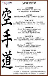 code moral du karaté ffkda