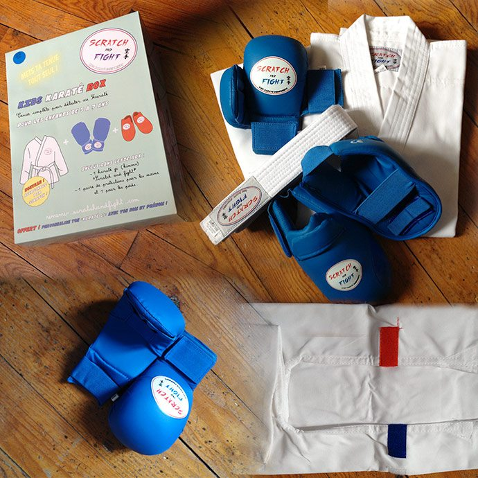 Karategi  pour les enfant de Scratch and Fight