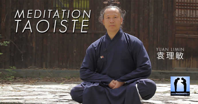 cours de méditation taoïste avec maître Yuan Limin à Wudang en Chine
