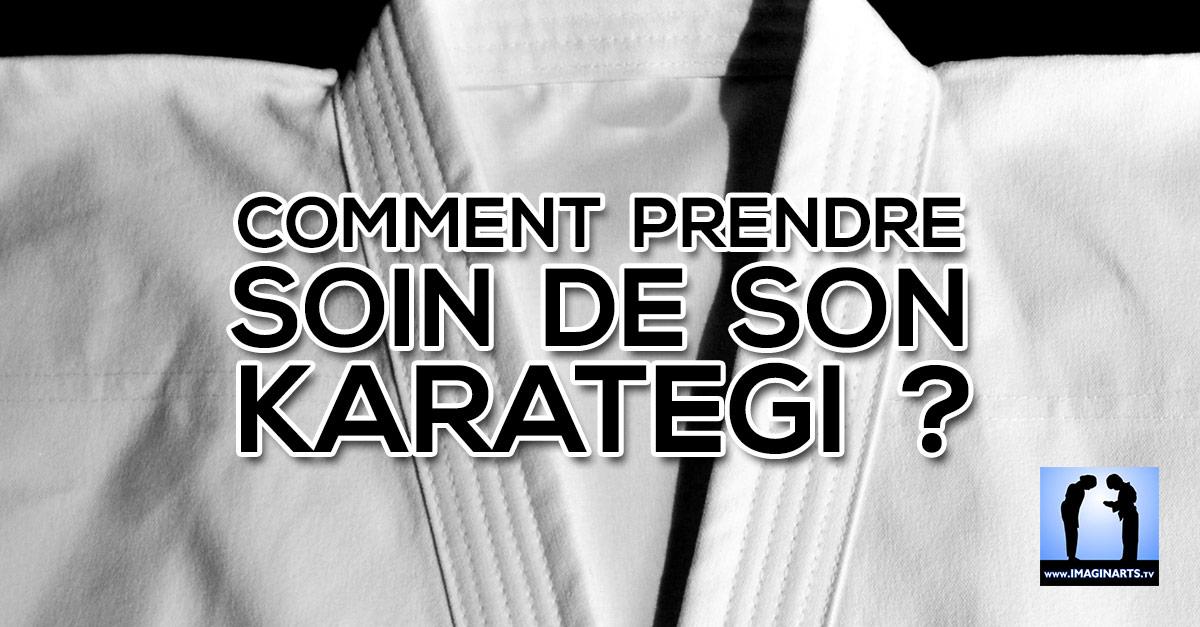 Comment prendre soin de son karate-gi (kimono) ?