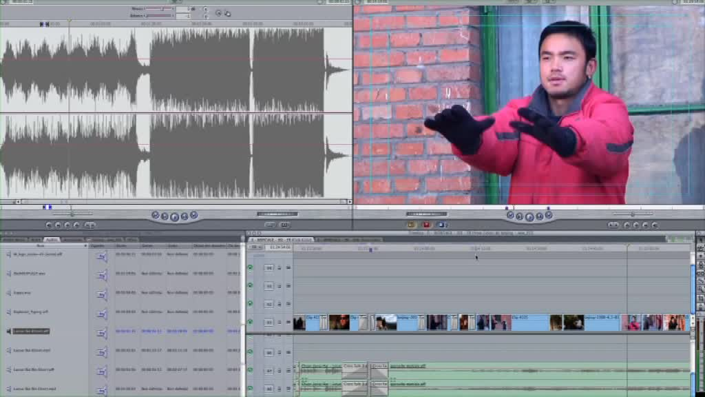 Flux de post production d'un documentaire