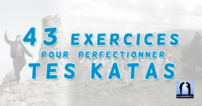 exercices pour s'entraîner au kata de karaté