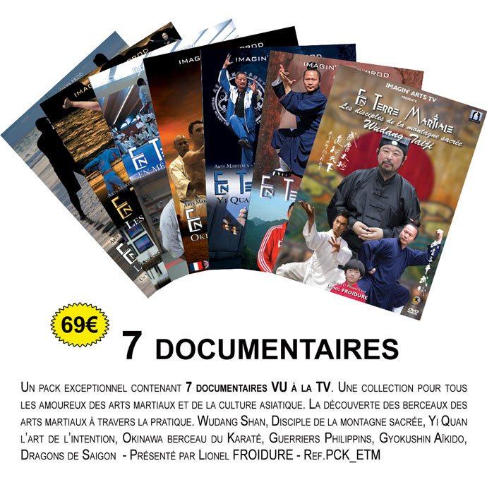 7 documentaires En terre Martiales