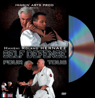 Sensei Roland Hernaez DVD - faire un étranglement